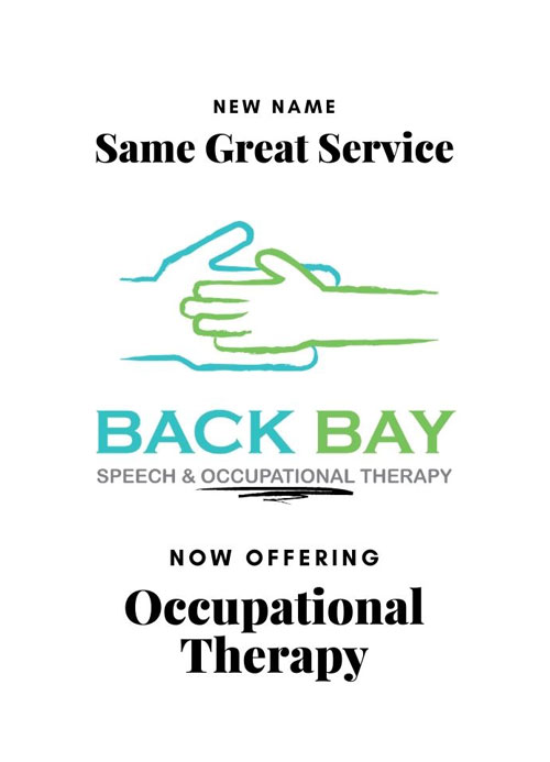 New Name Same Great Service - Now Offering Occupational Therapy
